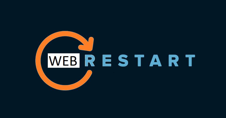 #WebRestart